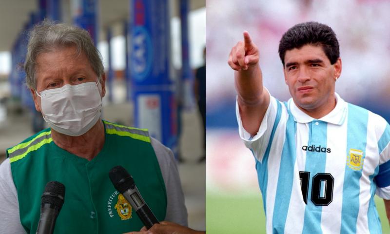 Arthur Neto lamenta morte de Maradona: 'um dos maiores atletas do século 20'