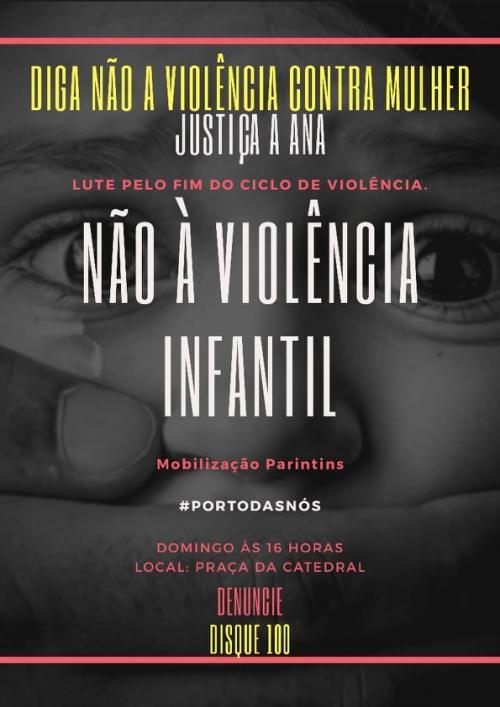Morte de Ana Beatriz: Manifestação denuncia estupro, assassinato e pede justiça