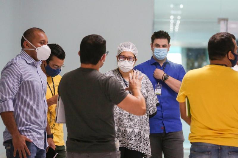 Equipe de planejamento e projetos da UGPE integra força tarefa na reativação do Hospital Nilton Lins para pacientes com Covid-19