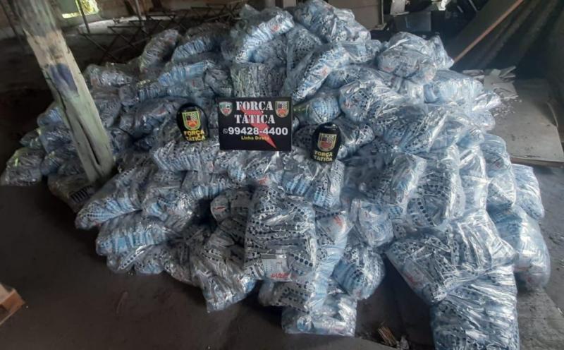 Polícia Militar localiza depósito clandestino com mercadoria roubada