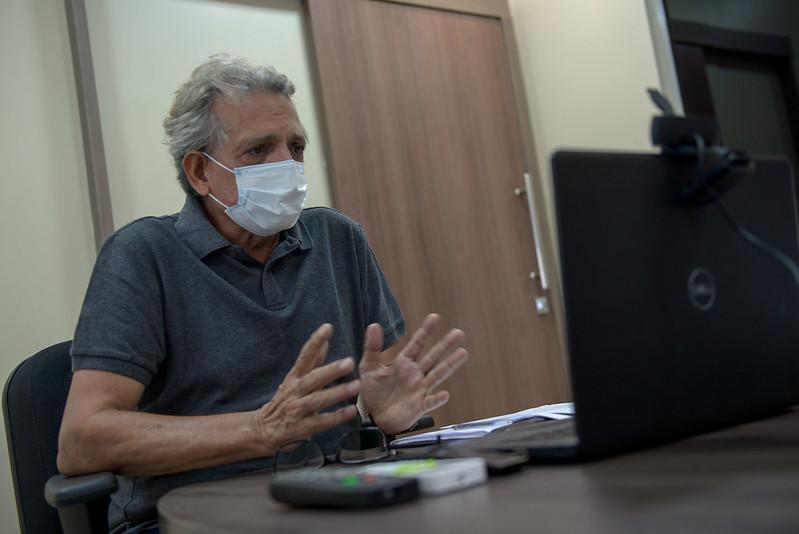 Prefeitura de Manaus não irá iniciar o ano letivo com aulas presenciais, diz secretário Pauderney Avelino