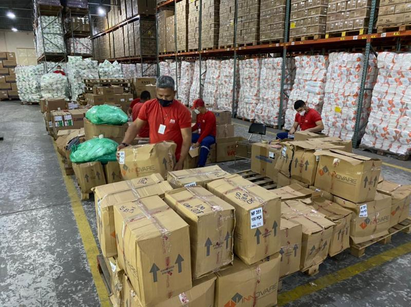 Cema designa grupo exclusivo para entrega e distribuição de doações para hospitais