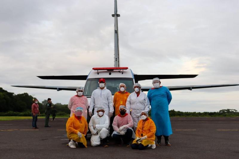 Governo do Amazonas realiza transferência de pacientes para Belém