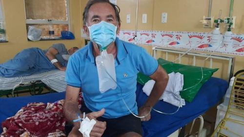 Ray Viana, presidente do tricampeonato do Caprichoso, está internado de coronavírus