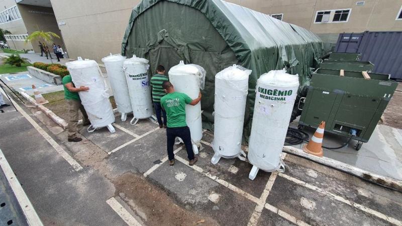 Governo do Amazonas contará com o reforço de mais cinco usinas independentes de oxigênio