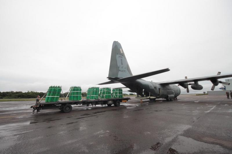 Secretaria de Saúde distribuiu 484 cilindros para o interior do Amazonas nesta terça-feira (19/01)