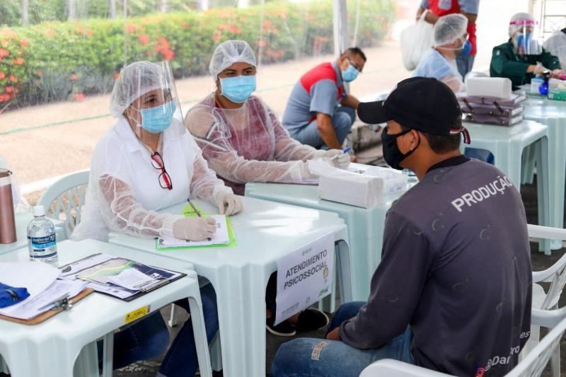 Unidades da Rede Estadual receberam mais de 46 milhões de EPIs na pandemia