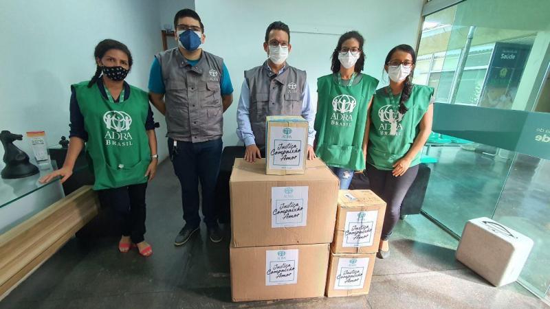 SES - AM recebe EPIs doados por Agência Adventista
