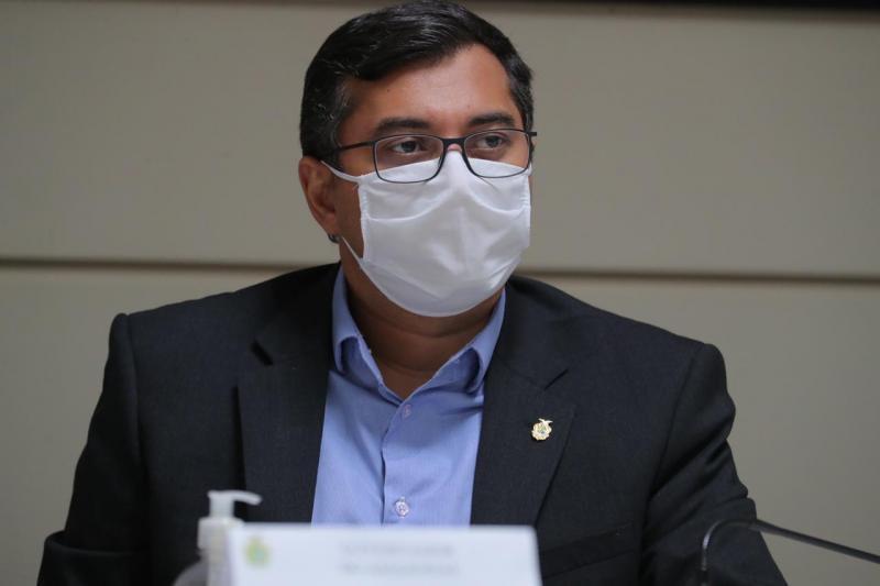 Wilson Lima agradece a governadores por decisão de doar 5% de vacinas contra Covid-19 ao AM