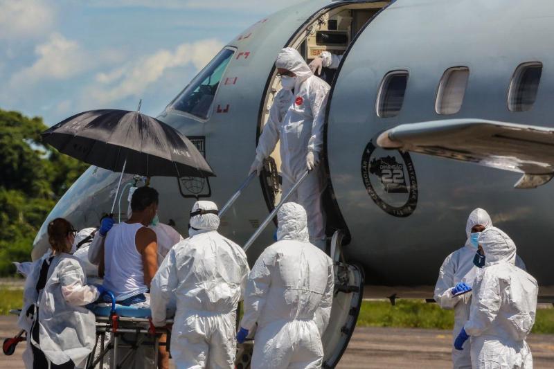 Mais 17 pacientes são transferidos para Belém pelo Governo do Amazonas
