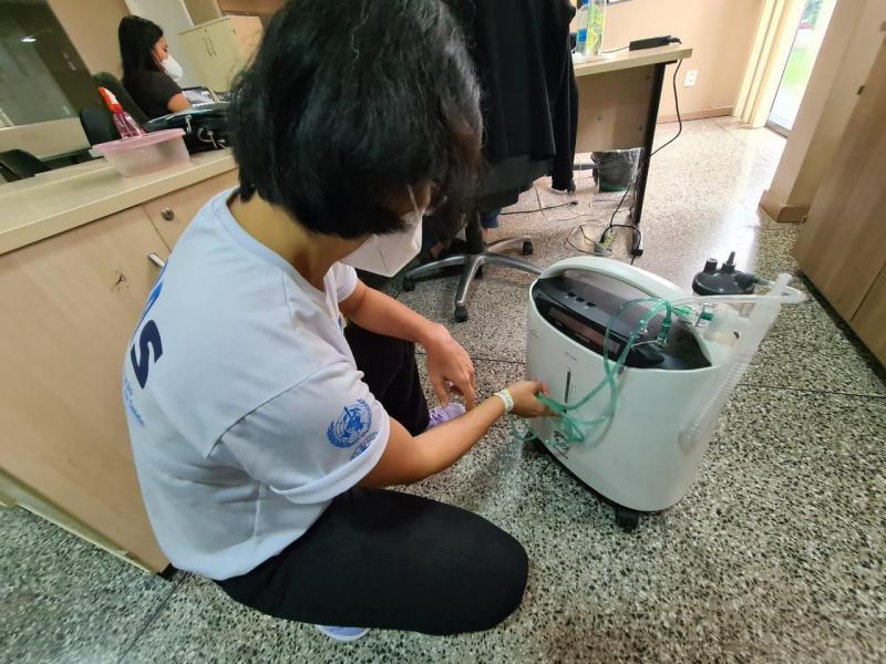 Mais de 30 municípios do interior já receberam concentradores de oxigênio