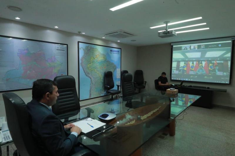 Governo do Amazonas recebe ajuda humanitária da Embaixada da China para as ações de enfrentamento à Covid-19