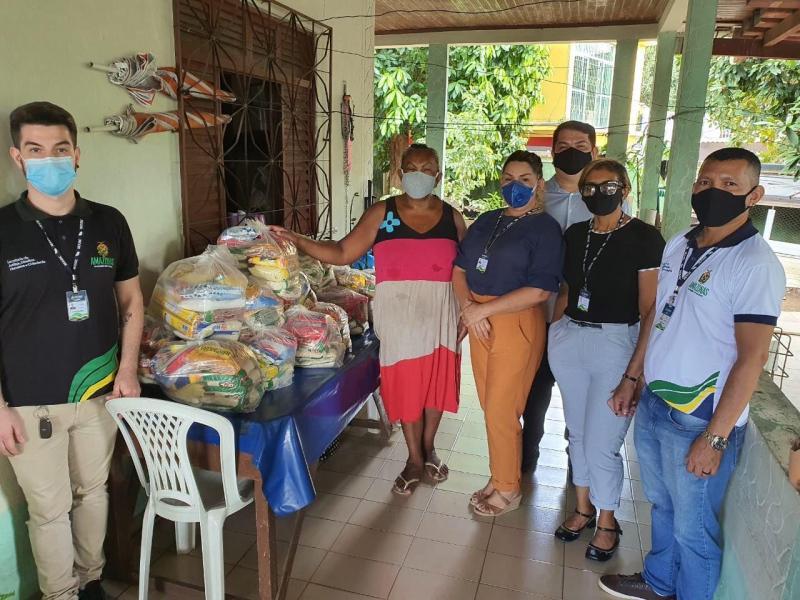 Sejusc doa 130 cestas básicas a instituições que atendem públicos em vulnerabilidade de social