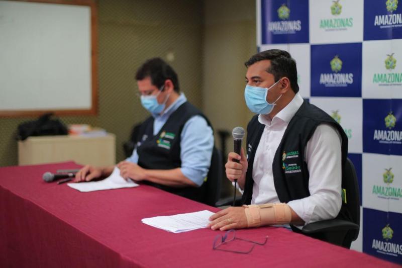 Governo do Amazonas amplia medidas de restrição para reforçar enfrentamento à Covid-19