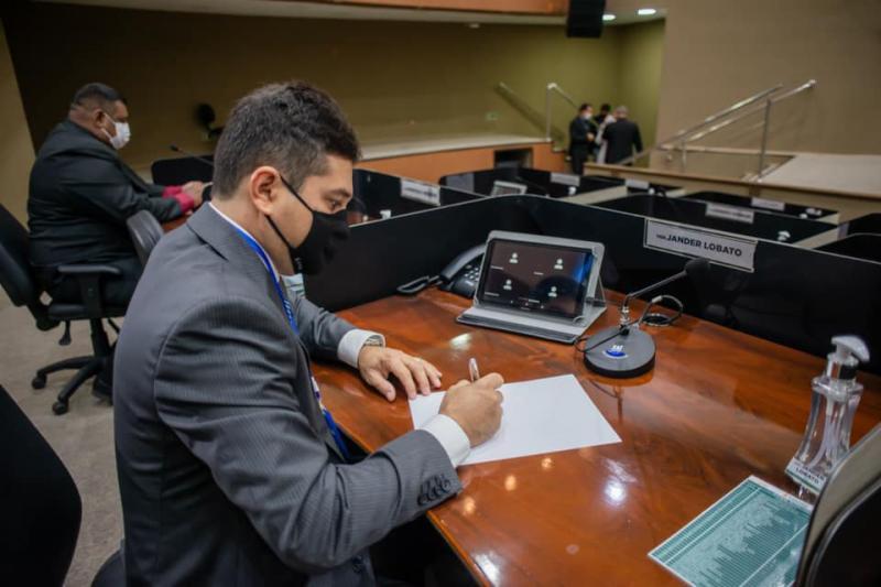 Jander Lobato assume vice-presidência da Comissão dos Direitos das Crianças, Adolescentes, Jovens e Idosos na Câmara de Manaus