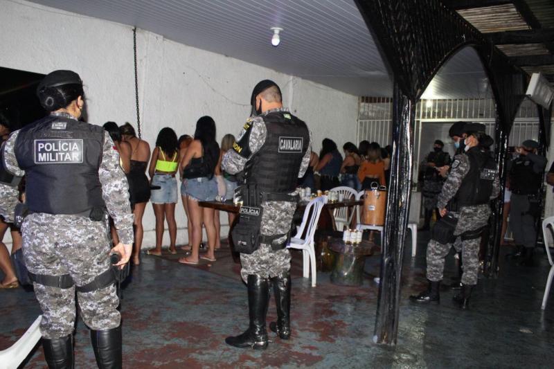 'Operação Pela Vida' encerra duas festas clandestinas na noite de domingo (14/02)