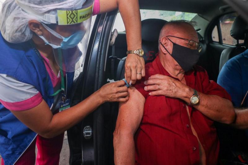 Empenho do Governo do Amazonas na distribuição das vacinas garante imunização em tempo recorde