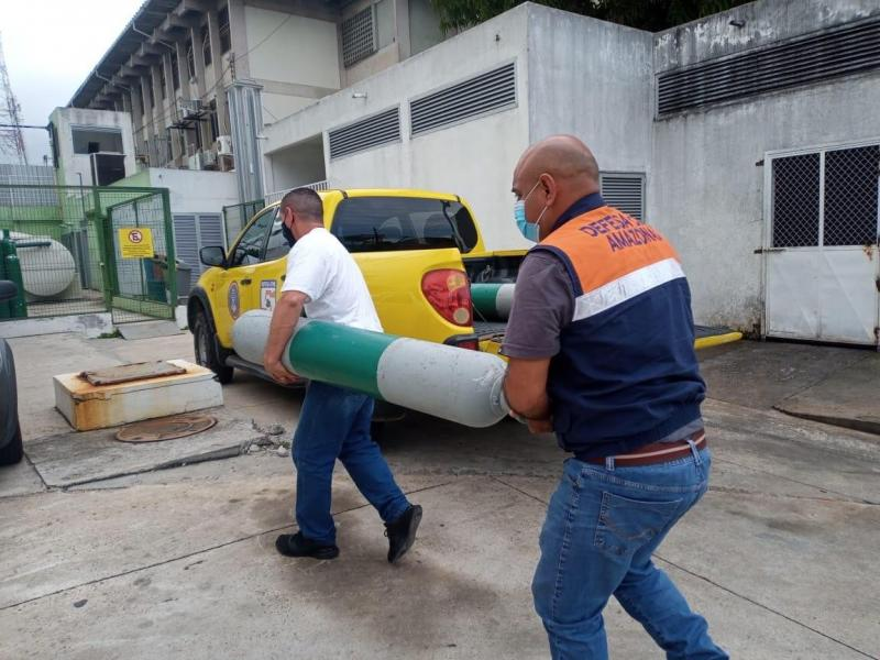 Defesa Civil do Amazonas já enviou mais de 7 mil cilindros de oxigênio reabastecidos ao interior