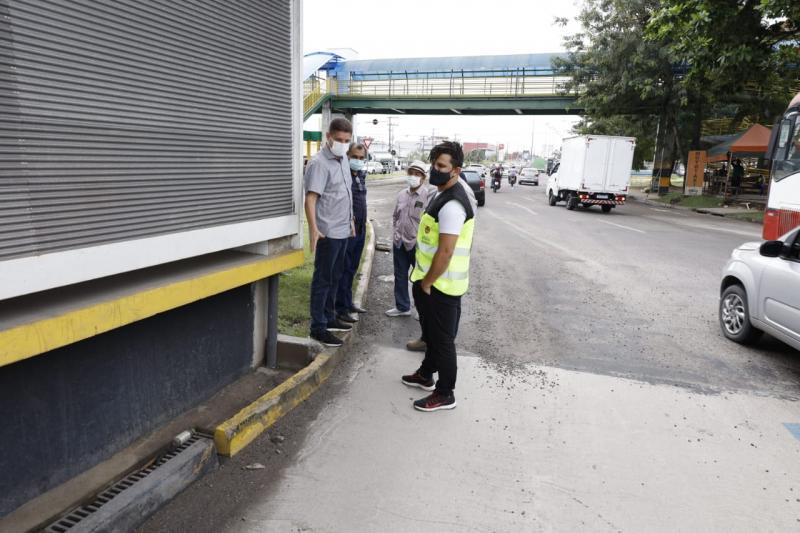 Prefeitura de Manaus pretende entregar corredor viário da Constantino Nery nos primeiros 100 dias de gestão