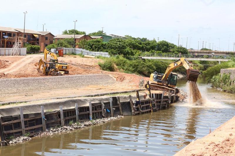 Governo do Estado retoma obras do Prosamim no igarapé do 40
