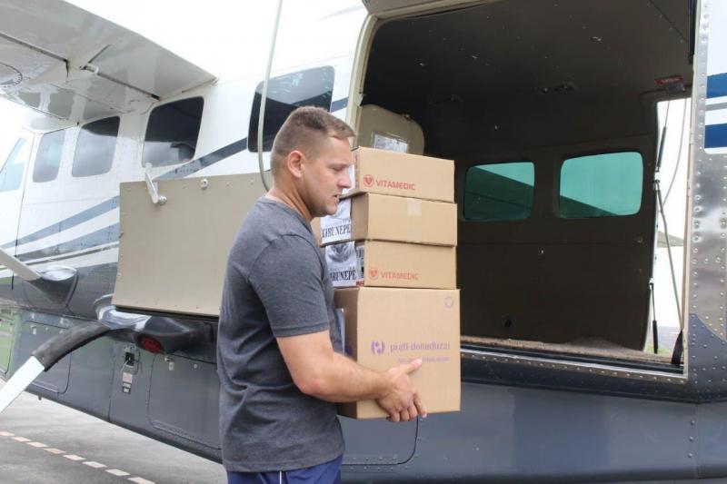 Governo do Amazonas terá auxílio de aeronave para missões humanitárias no interior
