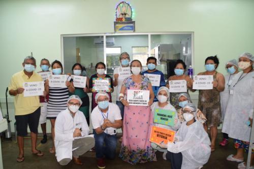Vitória em cima do Coronavírus: 15 pacientes festejam alta do Hospital Regional Jofre Cohen
