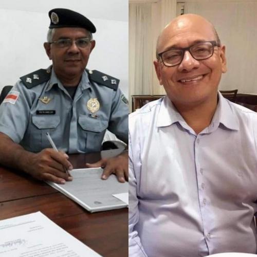 Capitão Agnelson da reserva da PM e Sargento Luiz da Reserva da PM morrem de Coronavírus