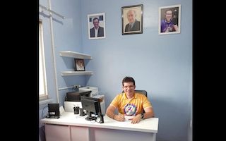 Glauber Gonçalves na Direção Geral da Rádio Clube de Parintins