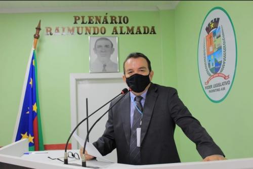Vereador Massilon cobra do Estado implantação da UTIs em Parintins