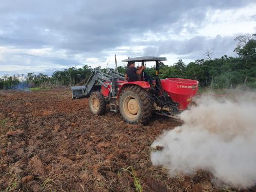 Assistência técnica do IDAM, aliada a tecnologia, beneficia agricultores familiares em Caapiranga