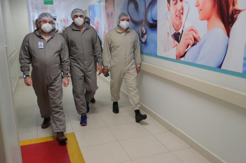 Governador Wilson Lima entrega mais 10 novos leitos de UTI no Hospital Delphina Aziz