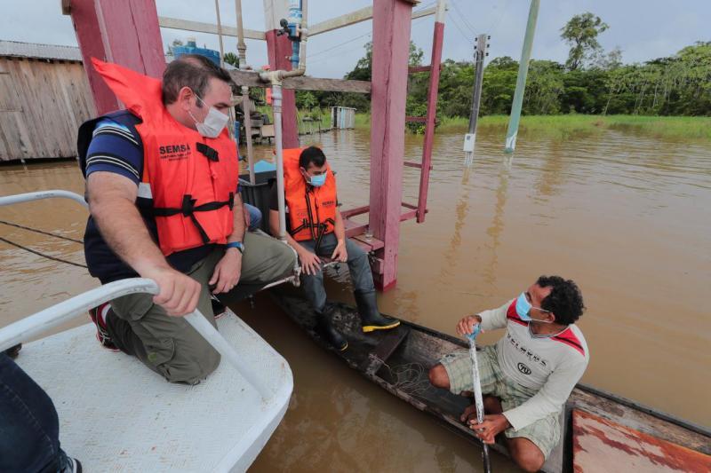 Wilson Lima vai encaminhar projeto à ALEAM para anistiar dívidas com a Afeam de produtores afetados pela enchente