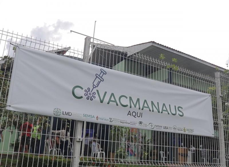 Quase 500 servidores da Segurança foram vacinados contra Covid-19 em pesquisa CovacManaus