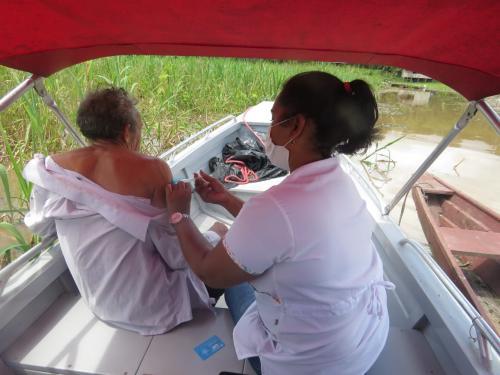 Amazonas aplicou 566.815 doses de vacina contra Covid-19 até dia 02 de abril