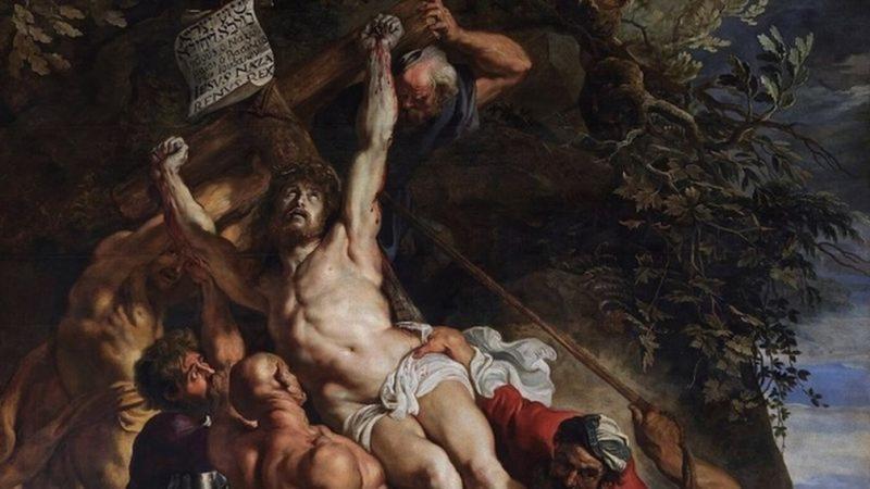 O que aconteceu com a cruz em que Jesus foi crucificado