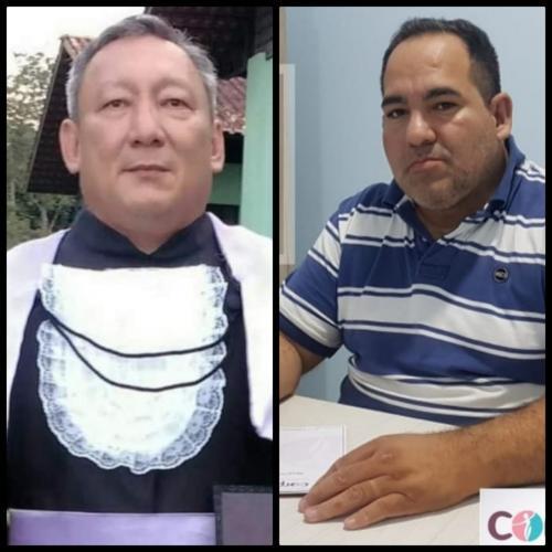 Professor Aldenor Hatta e psicólogo Giovanne Nascimento mortos pela COVID-19