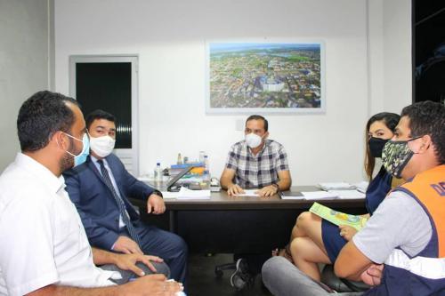 Prefeito em Exercício Mateus Assayag reúne com vários setores do Executivo nesta terça-feira