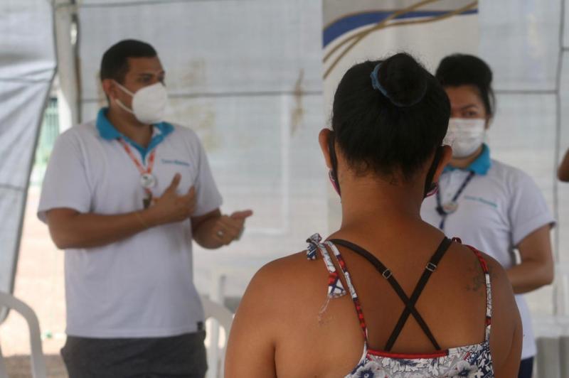 No Dia Mundial da Saúde, Sejusc promove atividades físicas e rodas de conversa no abrigo emergencial
