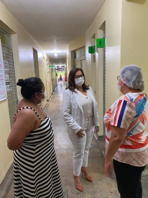 Márcia Baranda destaca a criação do Centro de Reabilitação Pós-Covid