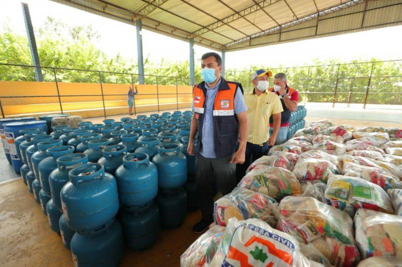 Governador Wilson Lima acompanha Operação Enchente 2021 nos municípios de Juruá e Carauari