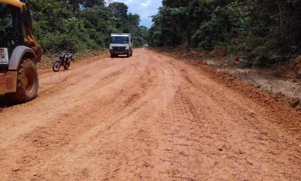 Começou projeto executivo para asfaltar Estrada Vila Amazônia até Valéria
