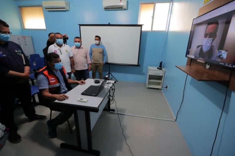 Wilson Lima inaugura serviço de teleconsultas em Carauari
