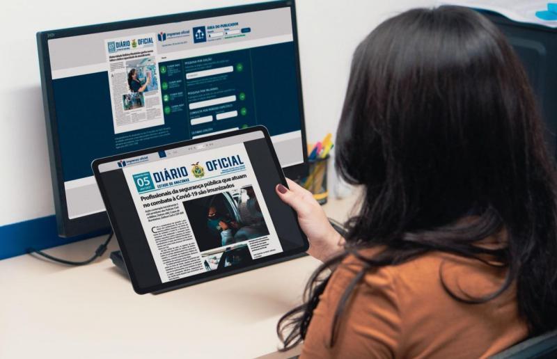 Diário Oficial do Amazonas deixa de circular impresso e passa a ser 100% virtual