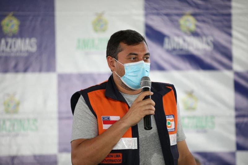 Governador Wilson Lima anuncia a reforma da UEA e de mais três escolas em Tapauá
