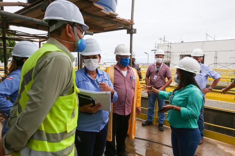 Governo e Prefeitura iniciam testes na Estação de Tratamento de Esgoto do Prosamim