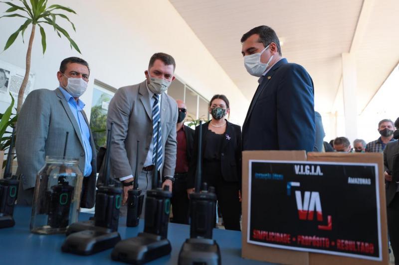 Sistema de radiocomunicação é implantado para reforçar segurança em Manaus e no interior