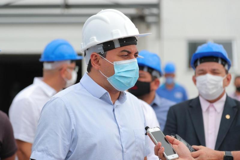 Governador Wilson Lima vistoria obras da primeira unidade do Cetam na zona norte