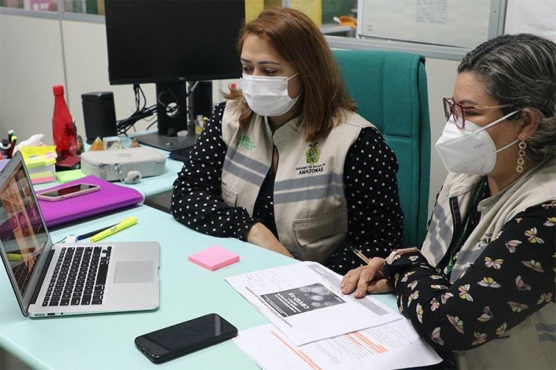 Amazonas apresenta cobertura vacinal em idosos em reunião virtual da Câmara dos Deputados