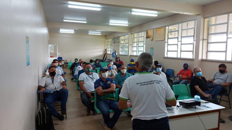 Governo do Amazonas realiza encontro técnico para fortalecer as ações no meio rural