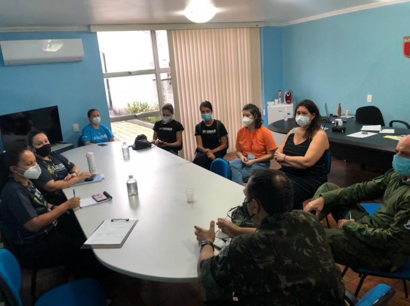 Governo do Estado presta atendimento às vítimas da enxurrada em posto de triagem na Torquato Tapajós